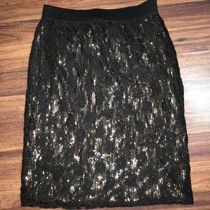 Forever 21 Skirts - Mid length sequence skirt